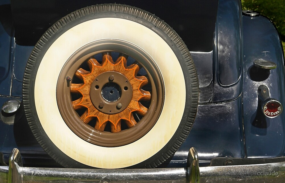 Vintage Wheel by cclaude