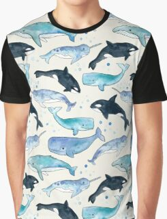 Whales, Orcas & Narwhals Graphic T-Shirt