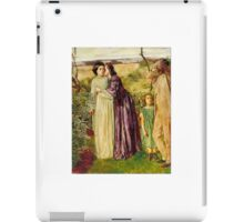 William Lindsay Windus - Too Late, Tate Britain iPad Case/Skin