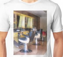Small Town Barber Shop Unisex T-Shirt