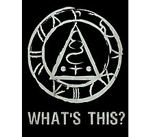 """SILENT HILL: SEAL OF METATRON """"WHAT'S THIS?"""" Photographic Print"""