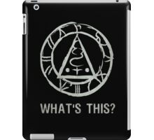 """SILENT HILL: SEAL OF METATRON """"WHAT'S THIS?"""" iPad Case/Skin"""
