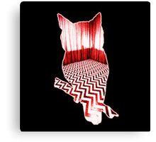 Twin Peaks Owl Canvas Print