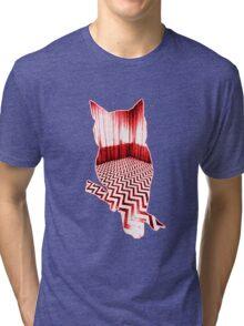 Twin Peaks Owl Tri-blend T-Shirt