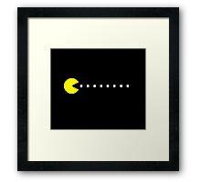 Pacman Framed Print