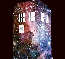 tardis galaxy by quickart