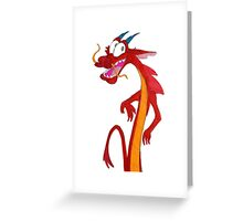 Mushu Greeting Card