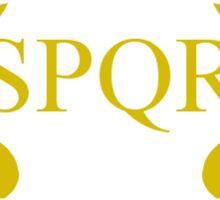 SPQR Roman Demigod Sticker