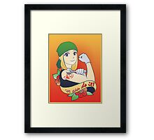 resembool we can do it! Framed Print