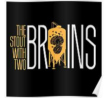 The Stout with Two Brains Poster