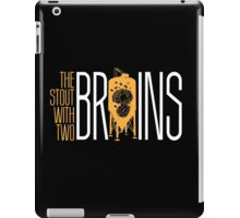 The Stout with Two Brains iPad Case/Skin