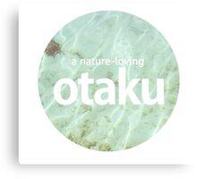 otaku.nature-lover-version #8 Canvas Print