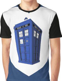 Tardis Heart Graphic T-Shirt