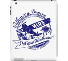 Hathaway For Hire iPad Case/Skin