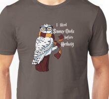 Harry Potter Inspired Hipster Owl Unisex T-Shirt