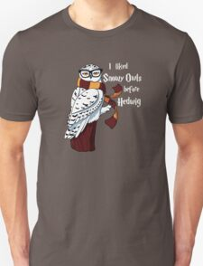 Harry Potter Inspired Hipster Owl T-Shirt
