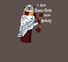 Harry Potter Inspired Hipster Owl Unisex T-Shirt