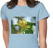Tulip Tree Bloom Womens Fitted T-Shirt