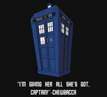 Doctor Who Misquote Kids Tee