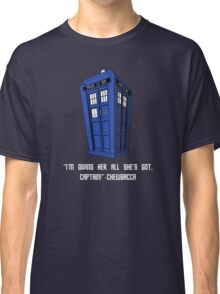 Doctor Who Misquote Classic T-Shirt