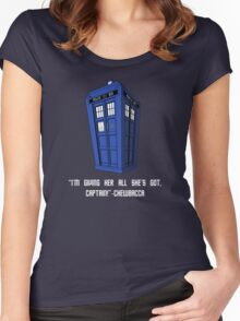 Doctor Who Misquote Women's Fitted Scoop T-Shirt