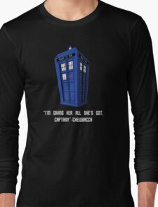 Doctor Who Misquote Long Sleeve T-Shirt