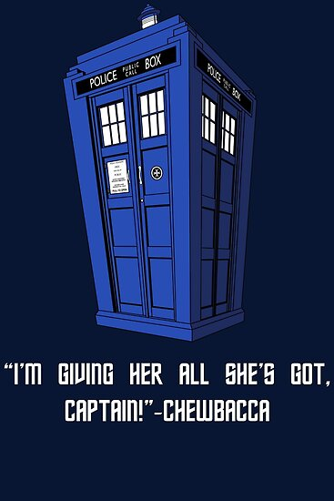 Doctor Who Misquote by Stephanie Whitcomb