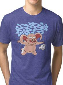 Panties in mind Tri-blend T-Shirt