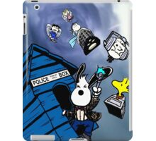 snoopy police box iPad Case/Skin