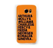 Weasley Family Samsung Galaxy Case/Skin