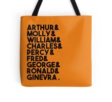 Weasley Family Tote Bag