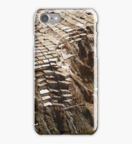Las Salinas de Mara, Peru iPhone Case/Skin