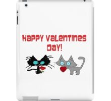 Cats Wish On Valentines Day iPad Case/Skin