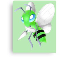 Chibi Shiny Beedrill Canvas Print