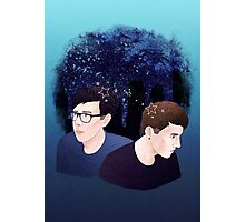 Dan and Phil Starry Sky Photographic Print