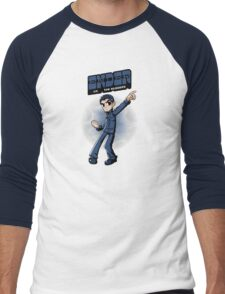 Ender vs. The Buggers Men's Baseball ¾ T-Shirt