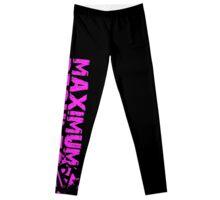 Pink Maximum Results Splash Logo Leggings