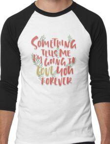 Love you Forever Men's Baseball ¾ T-Shirt