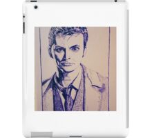 Tenth Doctor Drawing iPad Case/Skin
