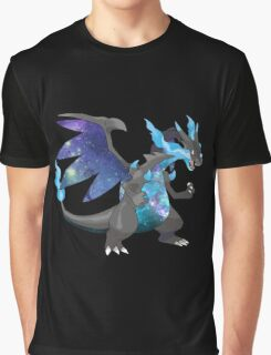 Mega Charizard X - Pokemon Graphic T-Shirt