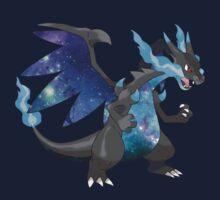 Mega Charizard X - Pokemon Kids Tee
