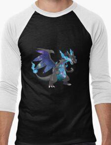 Mega Charizard X - Pokemon Men's Baseball ¾ T-Shirt