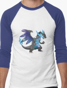 Mega Charizard X - Pokemon Men's Baseball ¾ T-Shirt