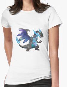Mega Charizard X - Pokemon Womens Fitted T-Shirt