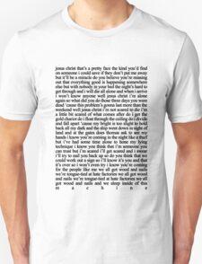 JESUS CHRIST LYRICS T-Shirt