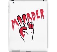 Peaceful Murder iPad Case/Skin