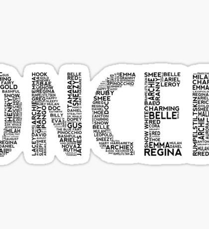 Once Upon a Time - Oncer Sticker
