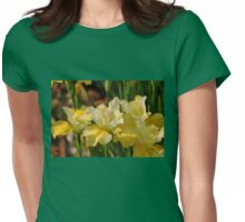 Buttery Iris Womens Fitted T-Shirt