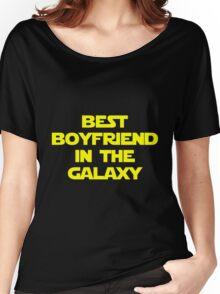 Best Boyfriend in the Galaxy Women's Relaxed Fit T-Shirt