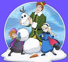 Frozen Elf by Robiberg